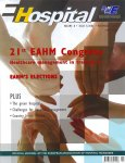 magazine cover for 21st Congress EAHM: Healthcare management in transition (5/2006)